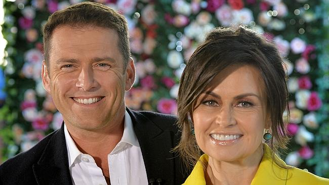 Karl Stefanovic and Lisa Wilkinson