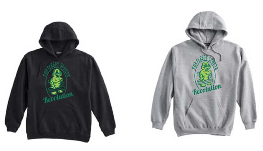 Click on the image to get your Turtleboy Sports Revolution hoodie or browse other merchandise from the Turtleboy store.