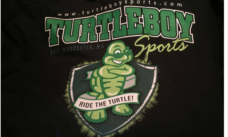 Get the newest Turtleboy Sports t-shirt (as seen on the Felger and Mazz show) by clicking the picture above.