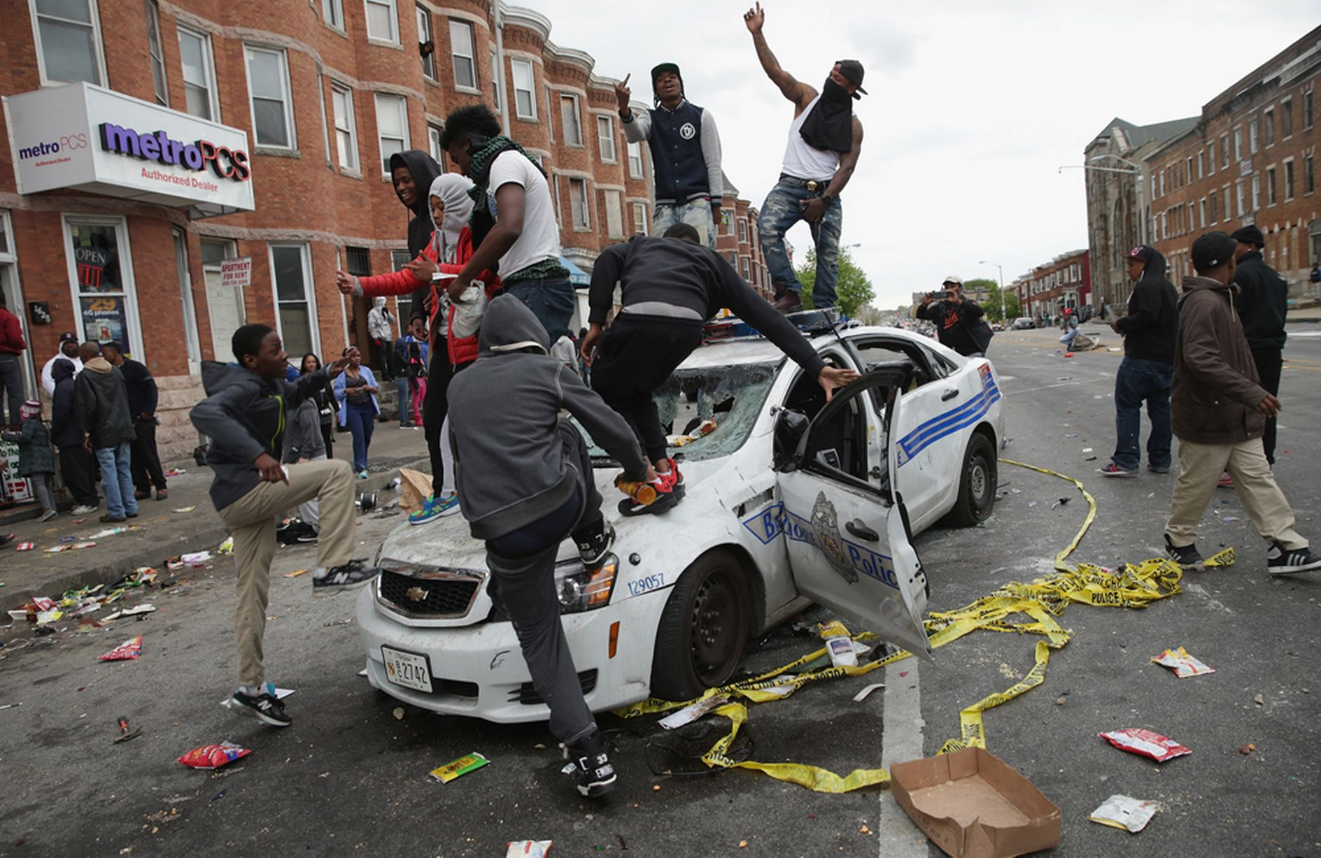 Baltimore-Riots